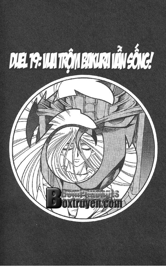 YUGI-OH! chap 297 - vua trộm bakura vẫn sống trang 2