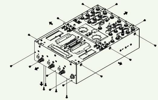 ELECTRONIC EQUIPMENT REPAIR CENTRE : DENON DN-X300 DJ