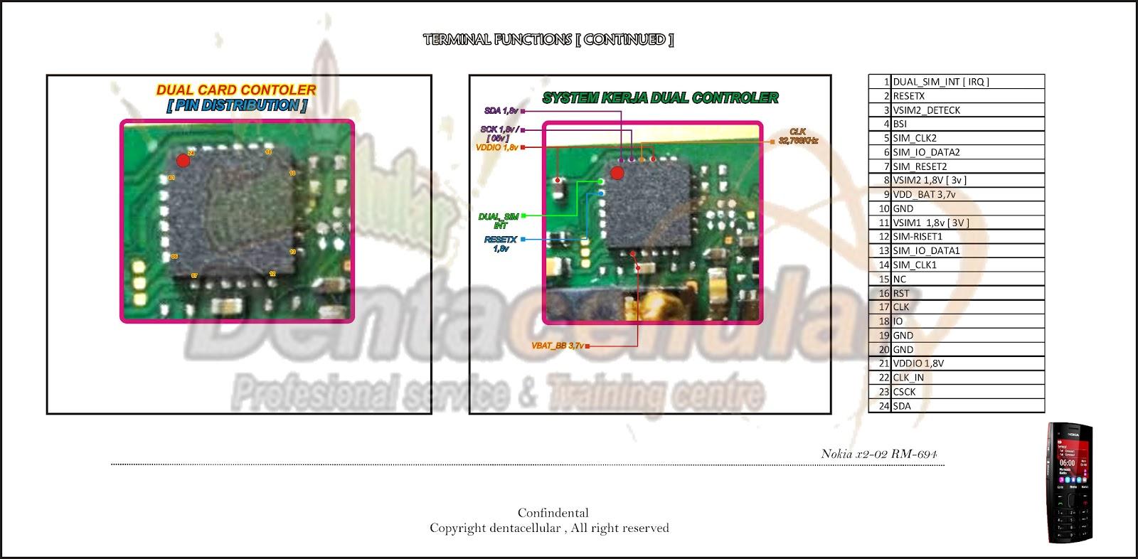 3fcb13 Circuit Diagram Of Nokia X2 02