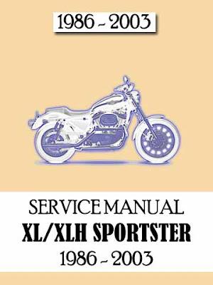 download harley davidson 1986 2003 xl xlh sportster service manual manual centre. Black Bedroom Furniture Sets. Home Design Ideas