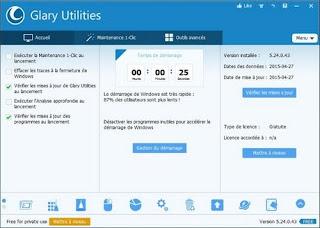 Glary Utilities, une collection d'outils pour optimiser votre ordinateur