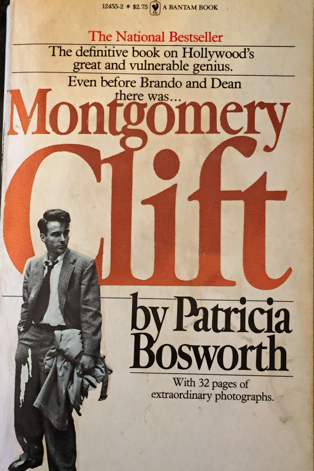 front cover of Patricia Bosworth biography of Montgomery Clift