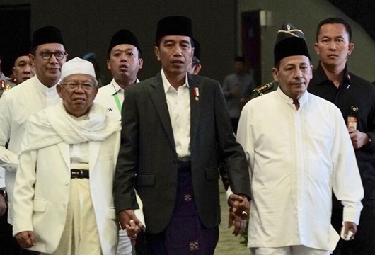 Eggi: Sejak Jadi Cawapres Jokowi, Ma'ruf Amin Ketularan Berbohong