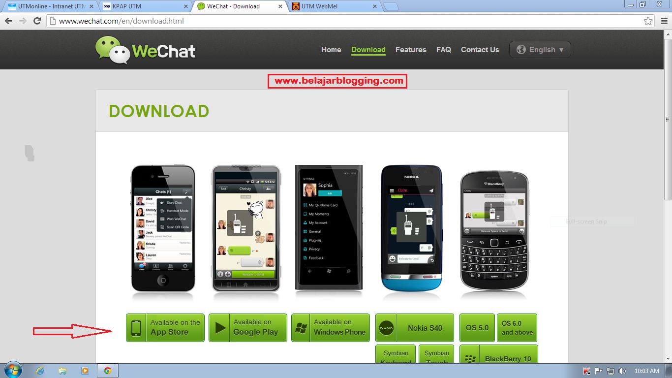 Macam Mana Nak Download WeChat - photo#48