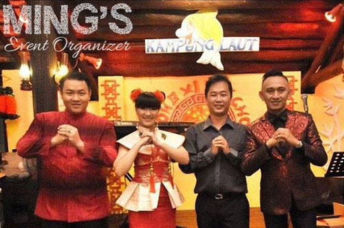 Mc Ming Ming - Mc Semarang - Imlek Kampung Laut Semarang 2016