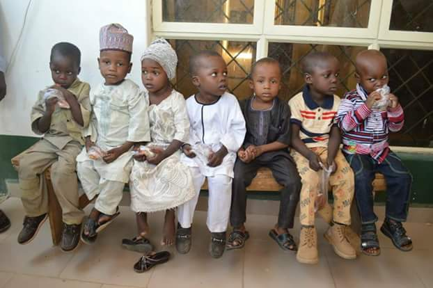 Photos: Police arrest three suspected kidnappers in Kano, rescue 7 children