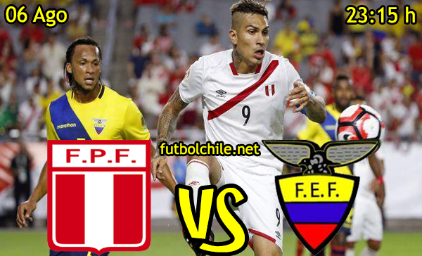 Ver stream hd youtube facebook movil android ios iphone table ipad windows mac linux resultado en vivo, online: Perú vs Ecuador
