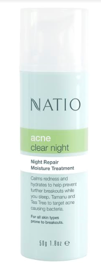 NATIO's Natural Solutions for Skin Problem