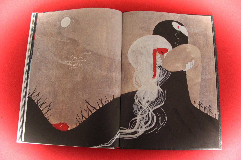 """""""Czerwone wilczątko""""Amélie Fléchais"""