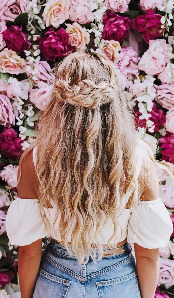 cute summer braid idea