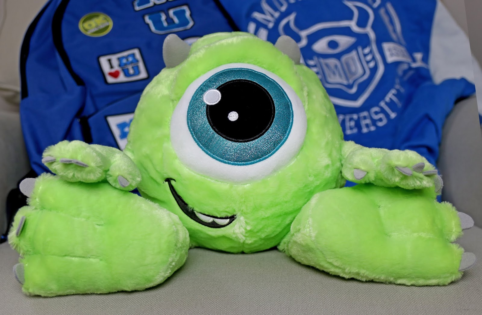 disney parks mike wazowski plush