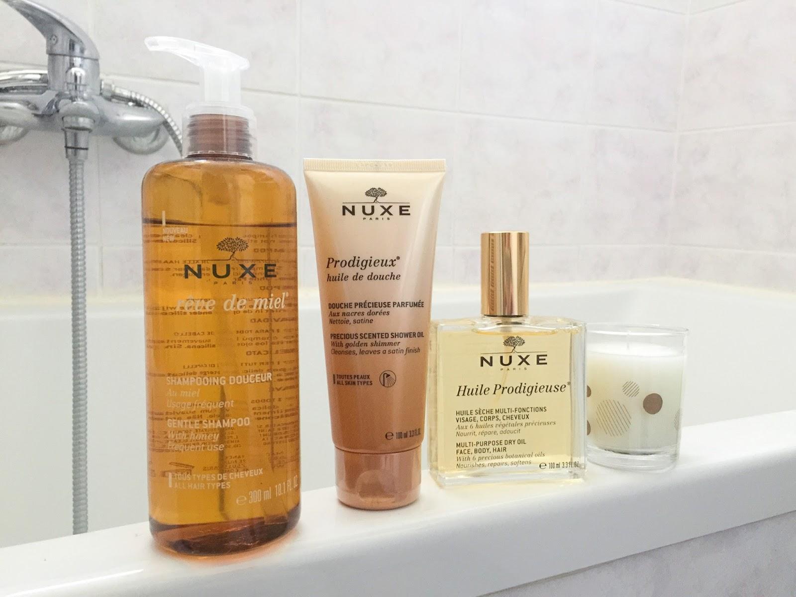 Trije najljubši iz Nuxe-a
