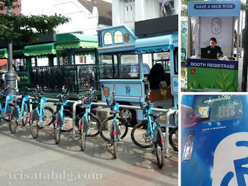 Cara sewa Boseh sepeda wisata Bandung