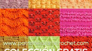 150 Patrones de Puntos Crochet / PDF Gratis