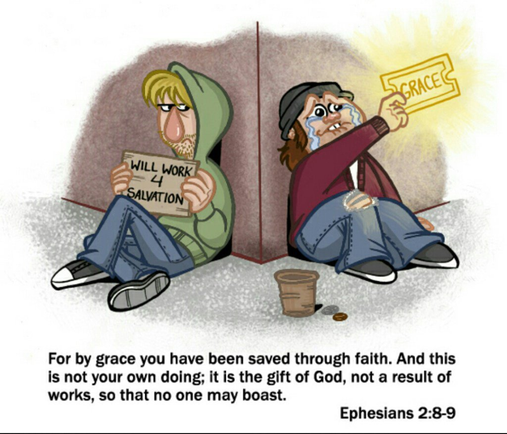 Jesus' yoke is based on the assurance of salvation by faith alone, and not by works.