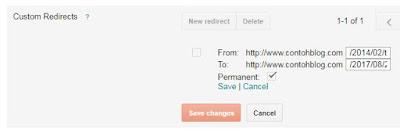 Custom Redirect (Pengalihan Khusus)