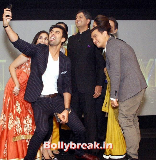 Ranbir Kapoor, Soundarya , Kangana Ranaut, Vikram Chandra , Prannoy Roy, Aamir Khan and Deepika Padukone, DP, Ranbir, Aamir at NDTV Indian of The Year Awards 2014