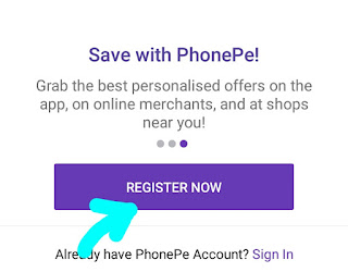 Phonpe Offer : get 100 rs on link bank account & 500 on refer