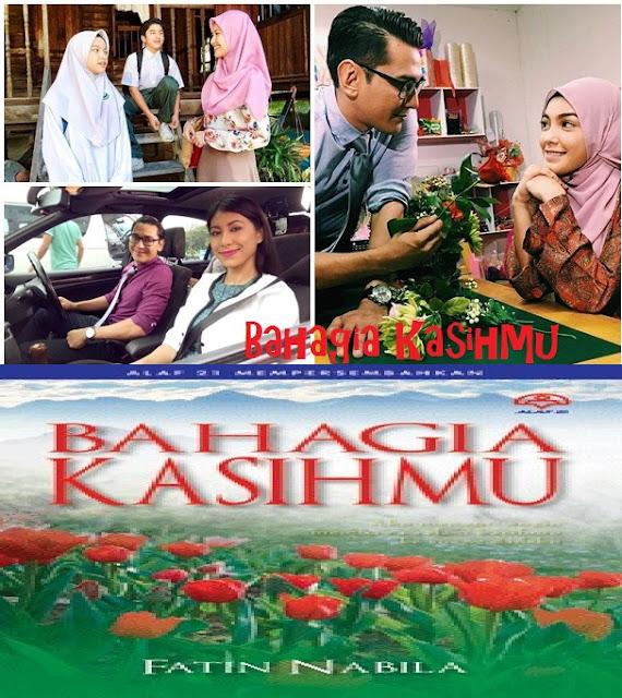 Drama Bahagia Kasihmu ,Adaptasi Novel Lakonan Fezrul Khan dan Eyka Farhana