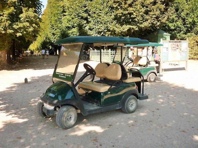 Parc du château de Versailles - la petite Venise - voiture à louer