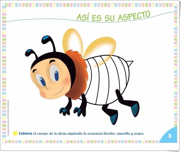 """Proyecto de Educación Infantil de 3 años """"Las abejas"""" (Colección """"¡Me interesa!"""" de Editorial Algaida)"""