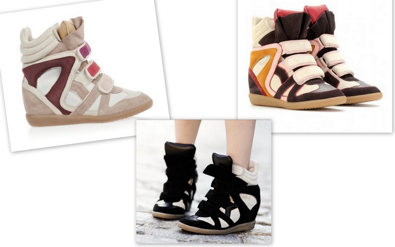 superior quality c71cf c62c6 Şu sıralar pek çok blogta karşıma çıkan ve birçok ünlü yıldızın da tercih  ettiği bu ayakkabılar Isabel Marant sneakers dan başkası değil. Spor  ayakkabı ...
