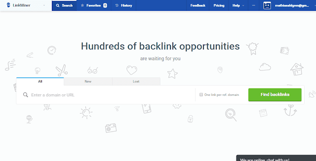 LINK MINOR (BACKLINK ANALYSIS TOOL)