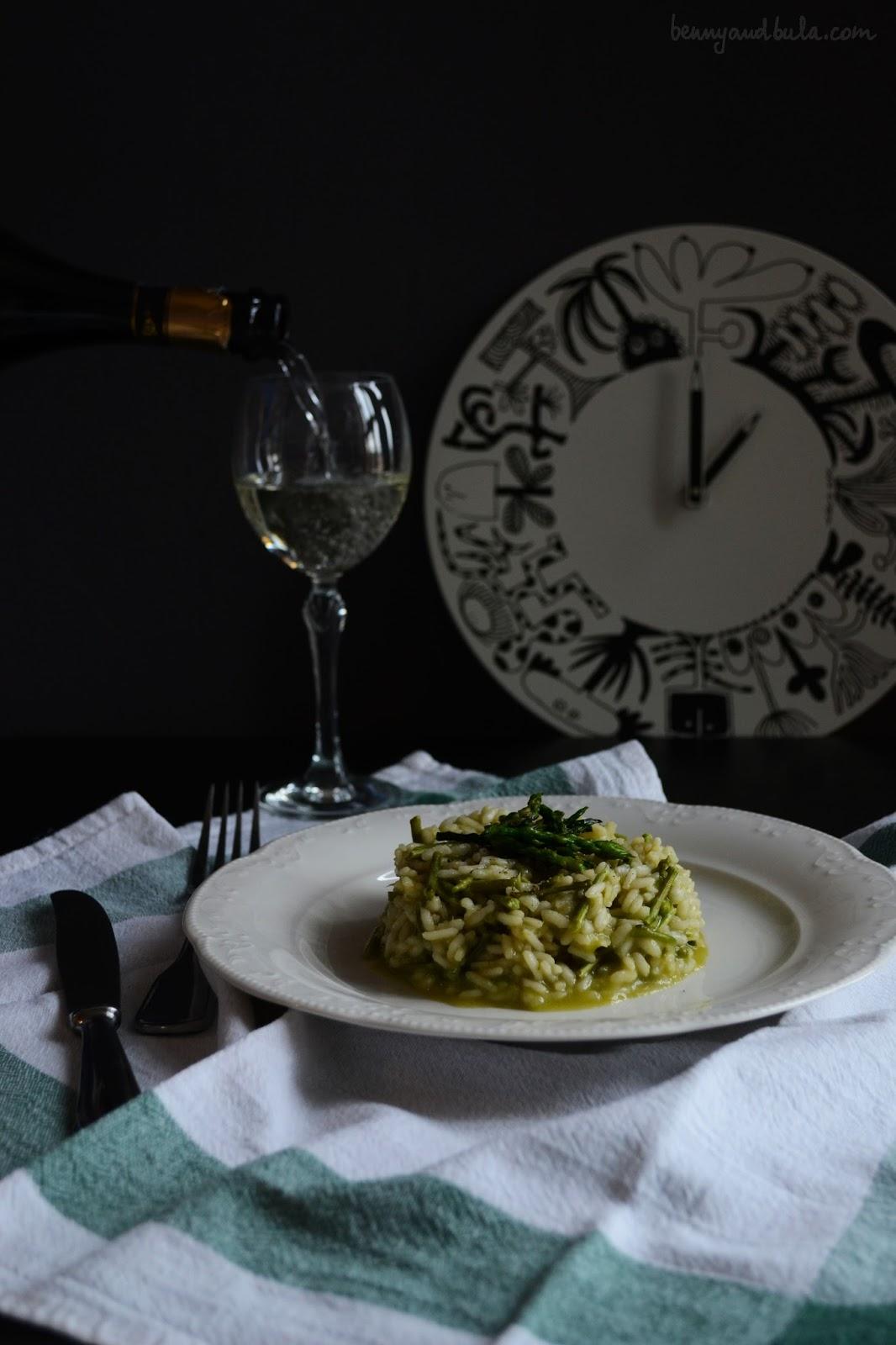 risotto asparagi selvatici/ wild asparagus rice