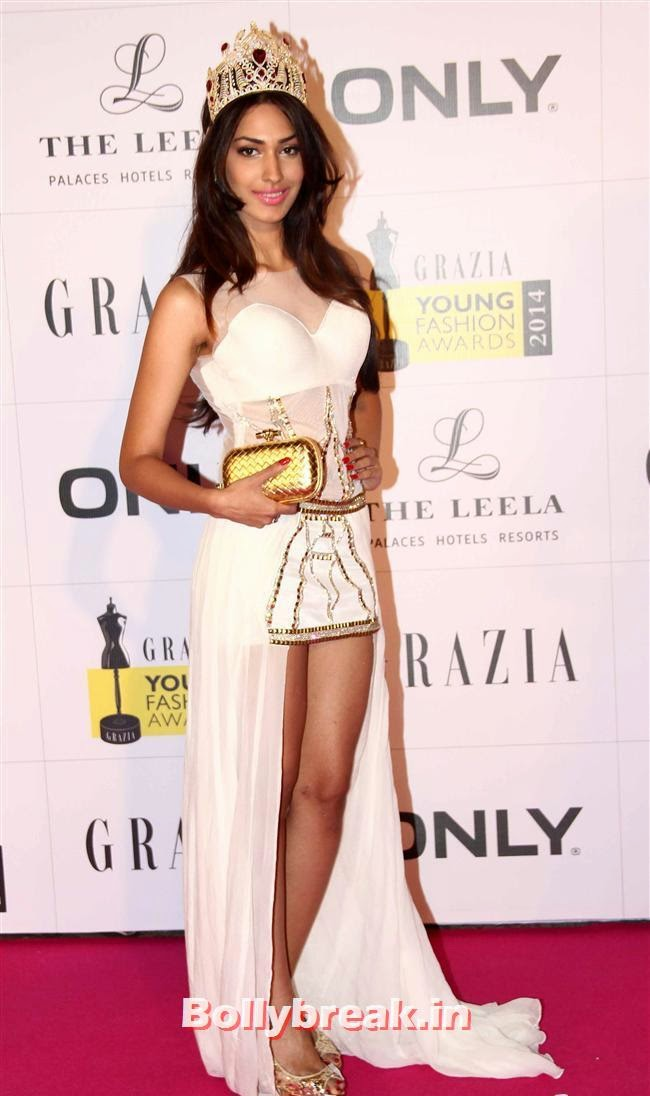 Gail Da'Silva, Hottest Celebs of Bollywood at Grazia Young Fashion Awards 2014