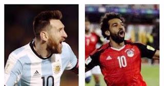 """محمد صلاح يفوز على ميسى فى استفتاء أفضل لاعب """"أشول"""" بالعالم"""
