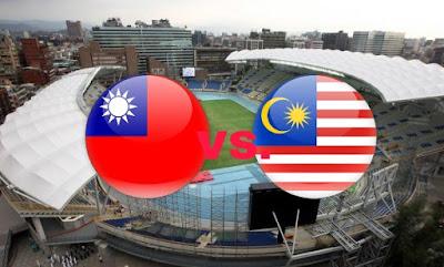 Live Streaming Taiwan vs Malaysia Friendly Match 7.9.2018