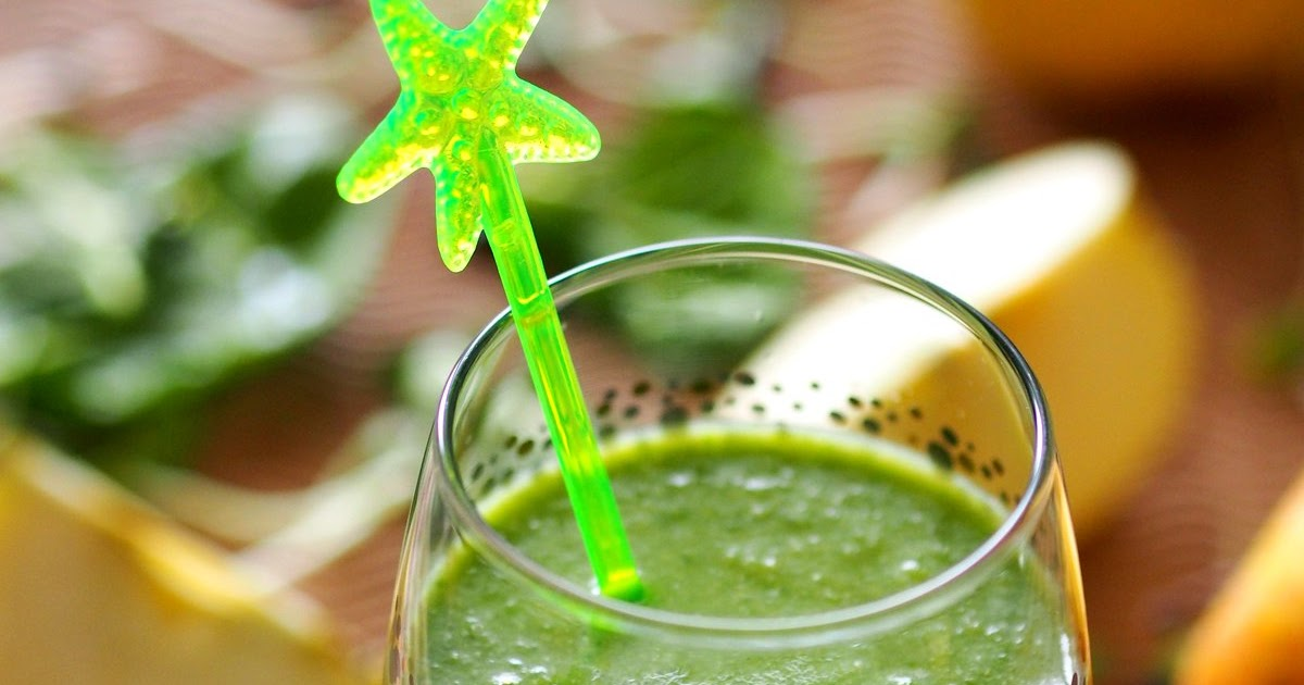 Cocktail ze szpinakiem