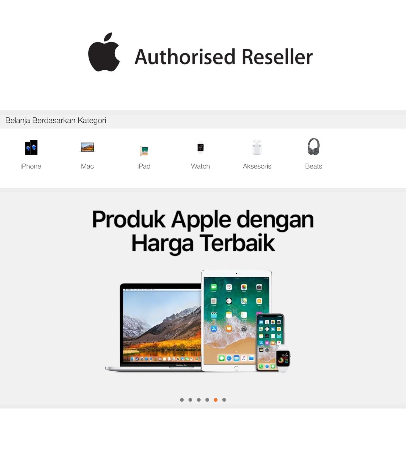Apple Resmi Buka Toko Online Di Lazada Indonesia