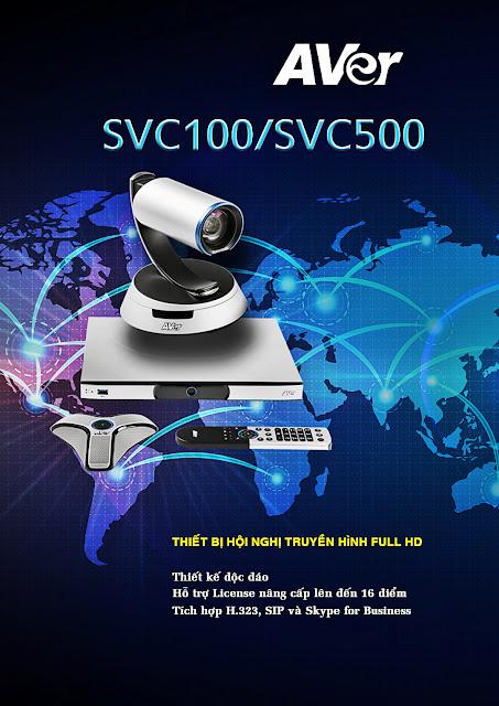 AVer SVC Series là giải pháp hội nghị truyền hình hàng đầu từ thương hiệu AVer