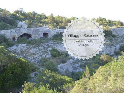 Villaggio Saraceno trekking nella murgia Materana