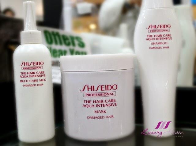 naoki yoshihara shiseido aqua intensive hair treatment review