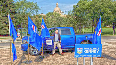 Top Ten Reasons Jason Kenney is Touring Alberta in a Pickup
