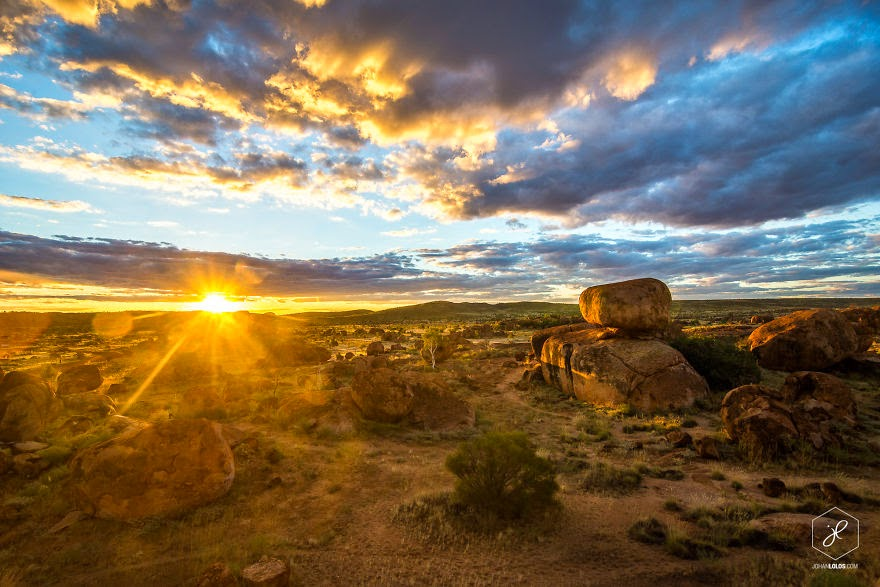 Devils Marbles, NT - Man Travels 40,000km Around Australia and Brings Back These Stunning Photos