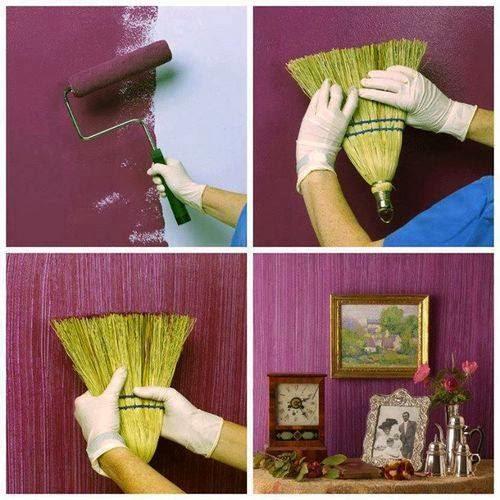 Come dipingere le pareti di casa, ecco tante idee per trovare quella giusta per una volta dimenticati di tutte quelle che sono le regole inviolabili sul colore e le tendenze sui colori dell'anno, di tutte quelle cose, cioè, che possono condizionare le tue scelte per dipingere le pareti della tua casa. Mille Idee Casa Come Dipingere Le Pareti Di Casa Con L Aiuto Di Una Scopa