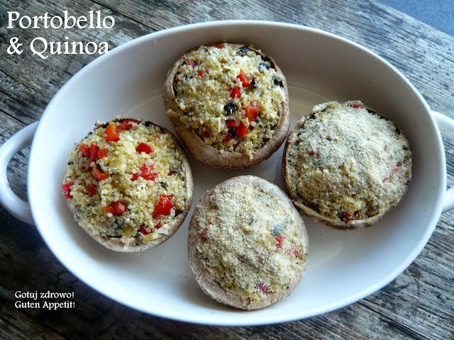 Portobello faszerowane quinoa - Czytaj więcej »