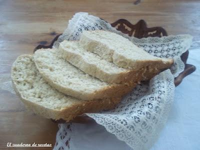 Pan blanco con salvado de avena