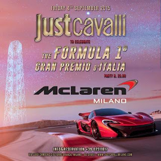 "FRIDAY 4 SEPTEMBER 2015 ""McLaren Party"""