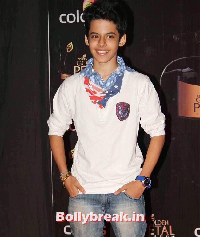 Darsheel Safary, Colors Tv 3rd Golden Petal Awards