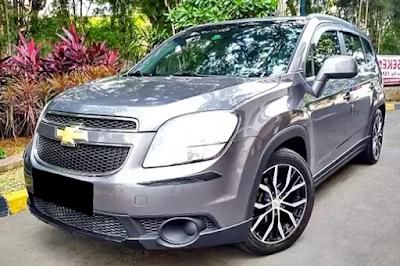 Chevrolet Orlando Modifikasi