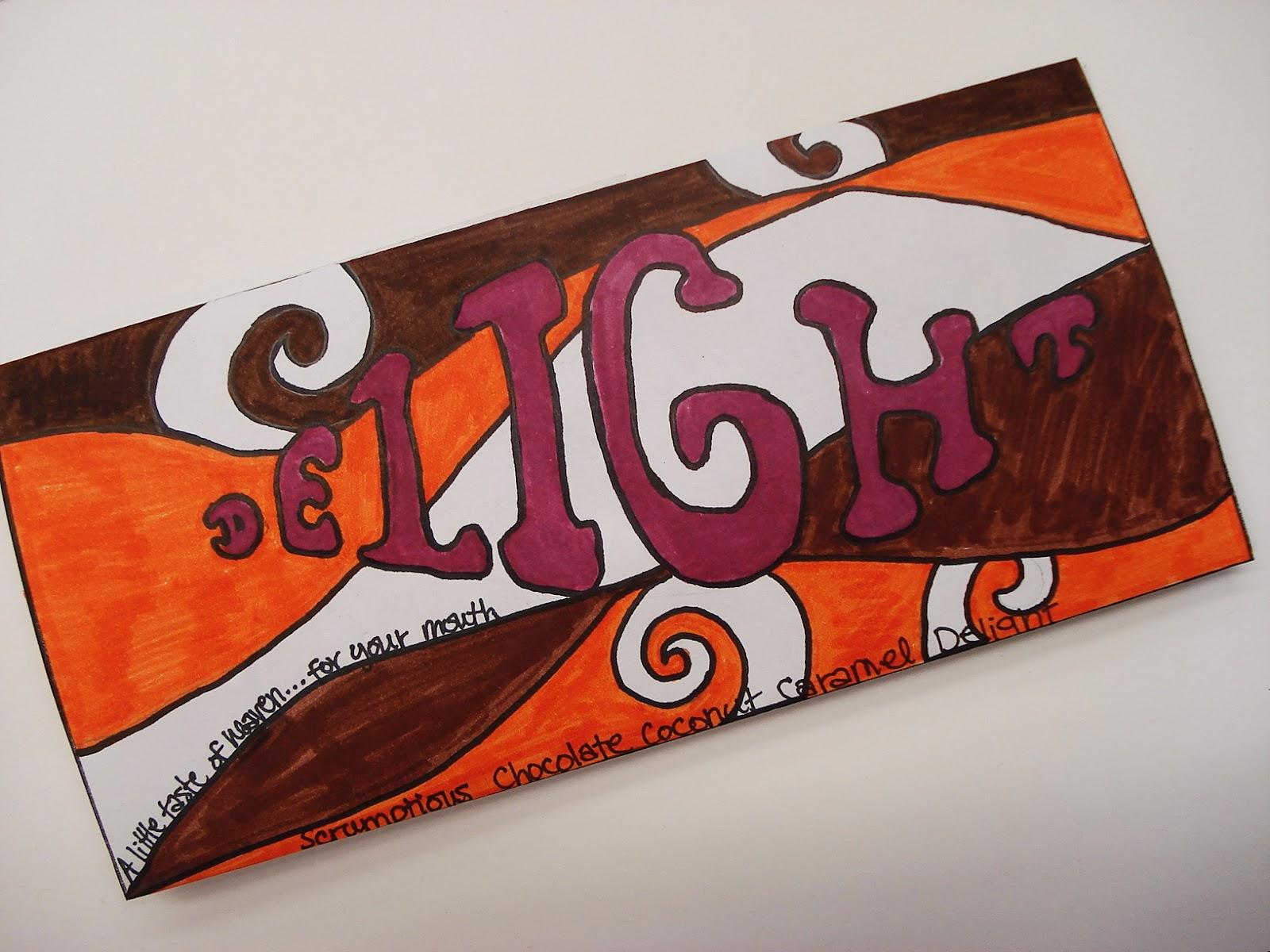 A Faithful Attempt Chocolate Bar Wrapper Design