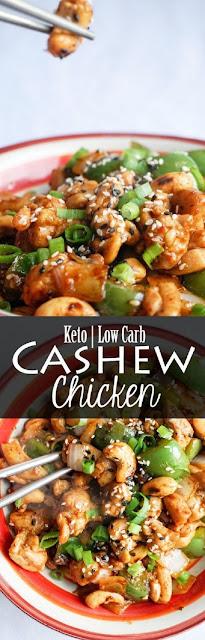 EASY KETO CASHEW CHICKEN