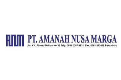 Lowongan Kerja PT. Amanah Nusa Marga Pekanbaru April 2019