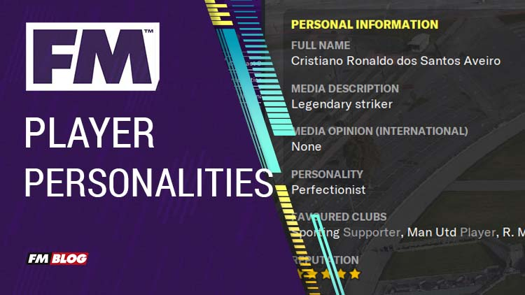 Player Personalities in Football Manager