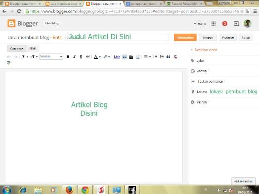 menu di blogger