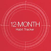 12-Month Habit Tracker by Yukié Matsushita
